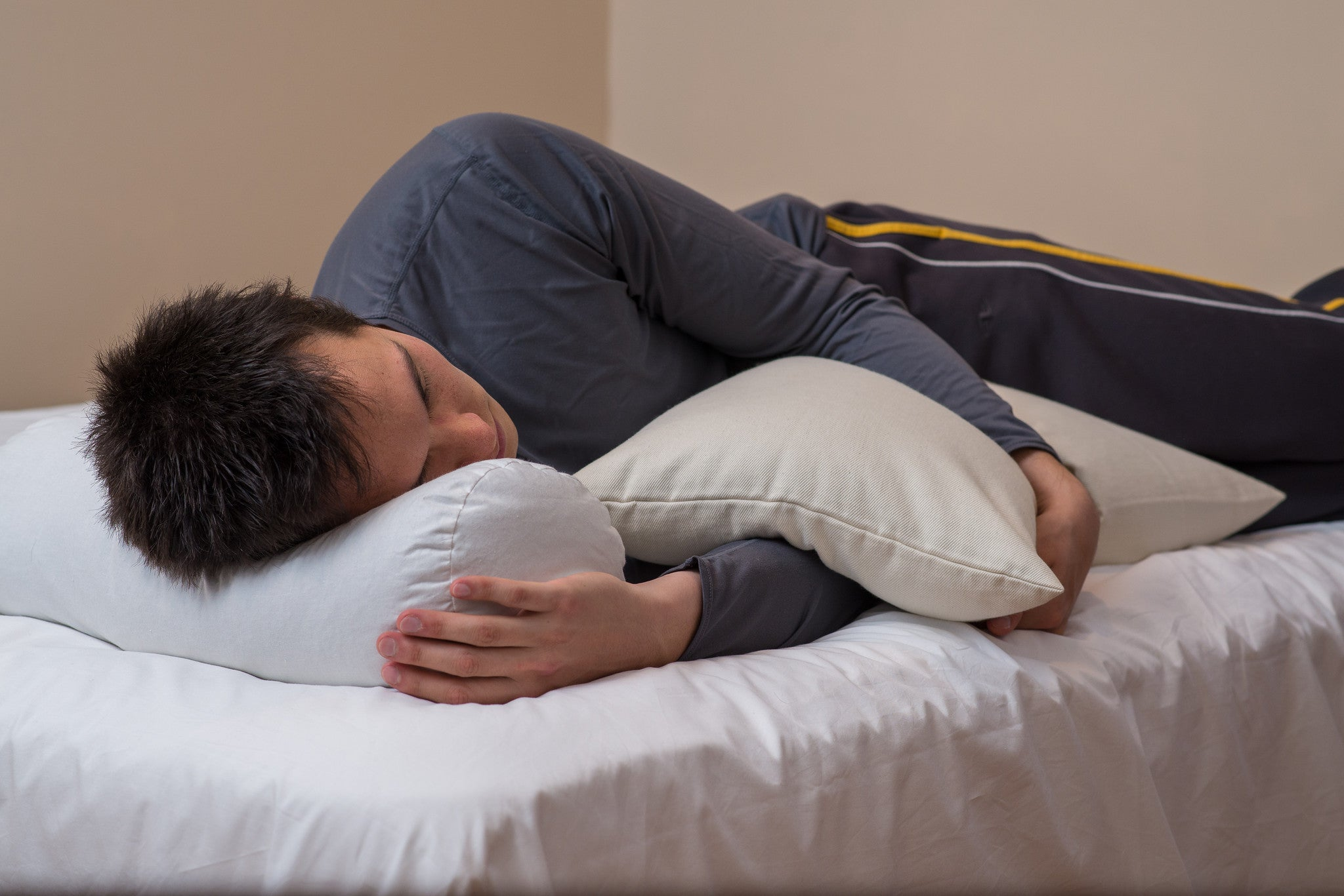 The ComfyNeck pillow is ideal for side sleepers