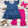 Baby Blues Capri Set