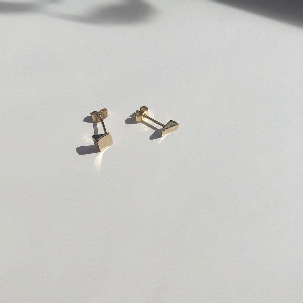 Coppia Earrings | Gold