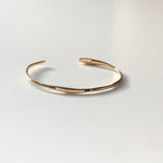BAR Jewellery Sustainable Fine Ripple Bracelet In Gold