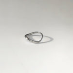 BAR Jewellery Sustainable Tide Ring In Recycled Sterling Silver