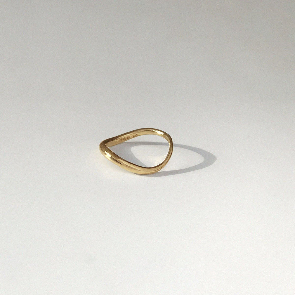 Tide Ring | Gold Plated