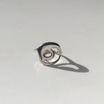 BAR Jewellery Sustainable Loop Ring In Sterling Silver