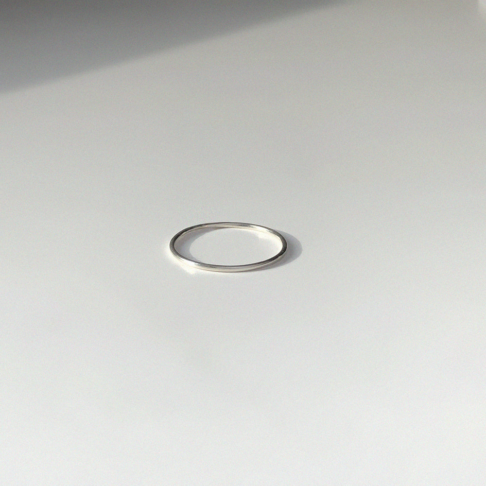 BAR Jewellery Sustainable O Ring In Sterling Silver