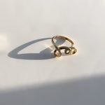 BAR Jewellery Sustainable Ember Ring In Gold