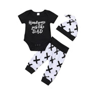 Handsome 3 Pcs Set - Tots Little Closet
