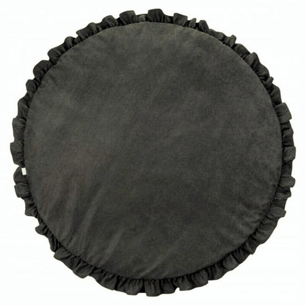 Frill Play Mat Dark gray - Tots Little Closet