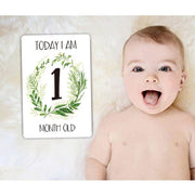 12 Sheet Milestone Photo Sharing Cards Gift Set - Tots Little Closet