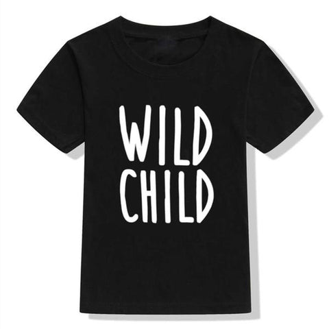 Boys Summer Street Wear T-Shirts Wild Child - Tots Little Closet