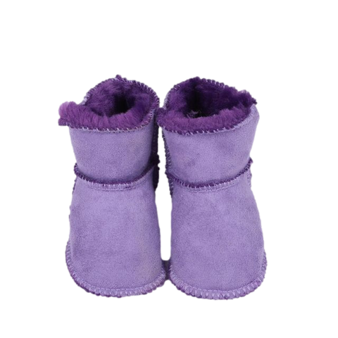 Baby First Walker Boots Purple freeshipping - Tots Little Closet