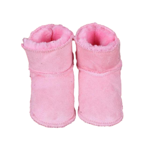 Baby First Walker Boots Pink freeshipping - Tots Little Closet