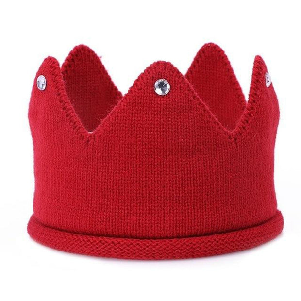Baby Knitted Crown