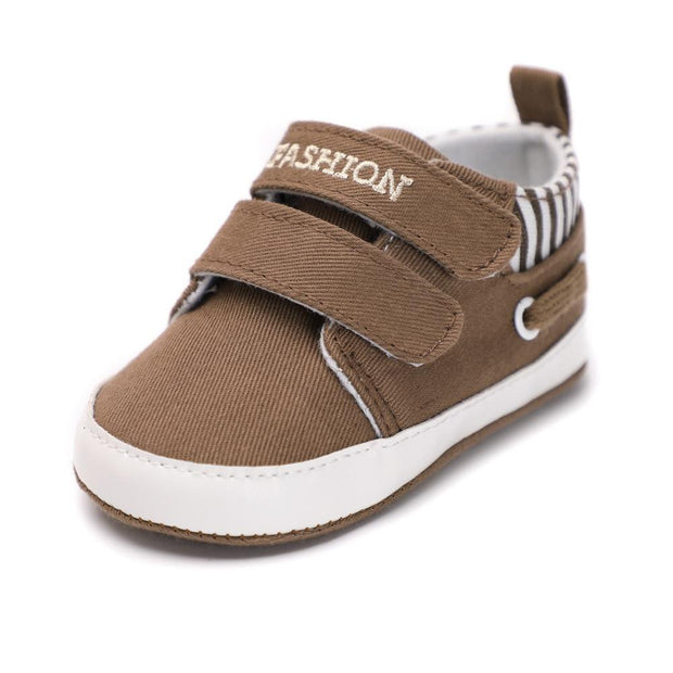 Boys Moccasin Shoes Brown