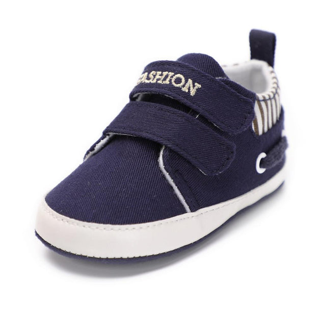 Boys Moccasin Shoes Blue