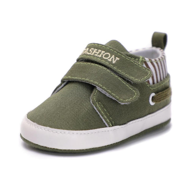 Boys Moccasin Shoes Green