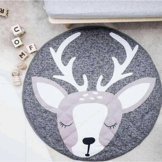 Deer Padded Play Mat Animal Collection - Tots Little Closet