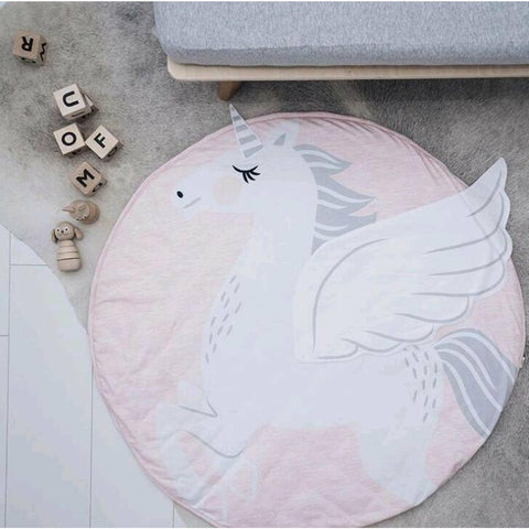 Unicorn Padded Play Mat Animal Collection freeshipping - Tots Little Closet