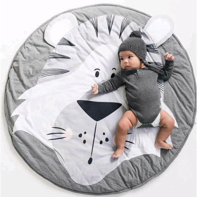 Tiger Padded Play Mat Animal Collection - Tots Little Closet