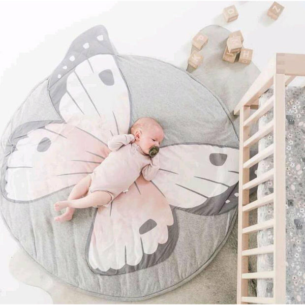 Butterfly Padded Play Mat Animal Collection - Tots Little Closet