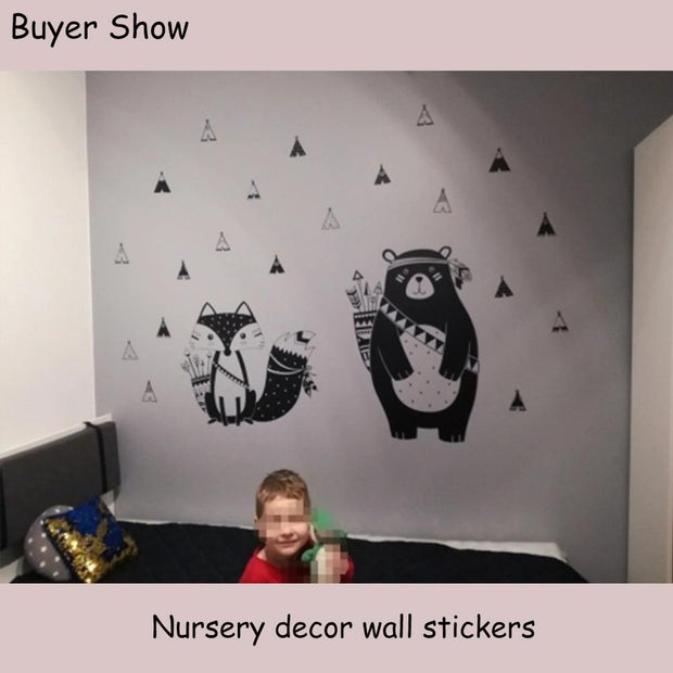 Tribal Animals Vinyl Wall Stickers 8 Styles