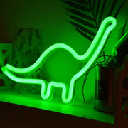 Dinosaur Shape Design Neon Sign Light - Tots Little Closet