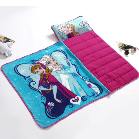 Frozen Kids Nap Mat with Blanket And Pillow 7 freeshipping - Tots Little Closet
