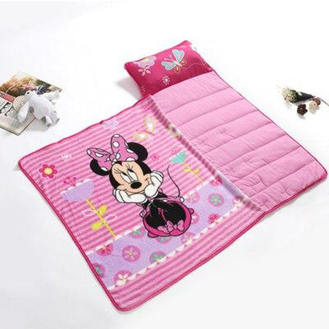 Minnie Mouse Kids Nap Mat with Blanket And Pillow 4 freeshipping - Tots Little Closet