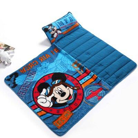 Mickey Mouse Kids Nap Mat with Blanket And Pillow 5 - Tots Little Closet