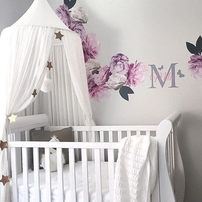 White Dome Canopy Nursery Mosquito Net