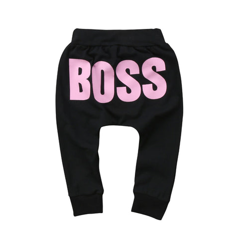 Baby Boss Pants - Tots Little Closet