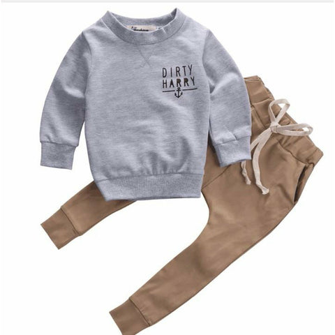 Dirty Harry Scallywag Crew 2pcs Outfit Set - Tots Little Closet