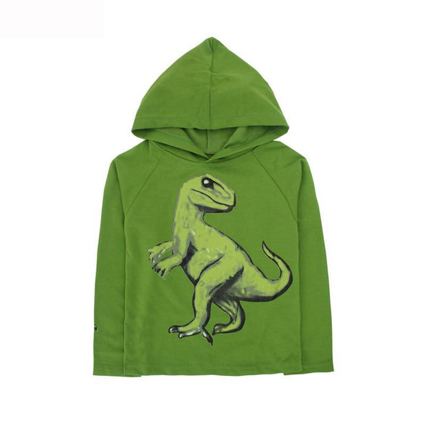 Dinosaur Graphic Hoodie - Tots Little Closet
