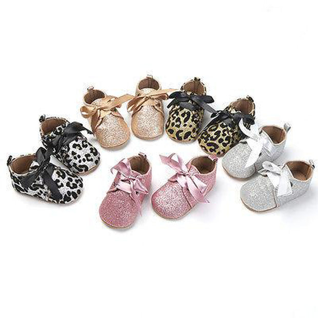 Glitter Prewalker Shoes Assorted Colours