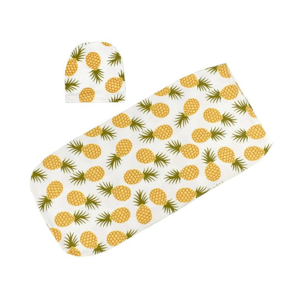 Pineapple Swaddle Sack - Tots Little Closet