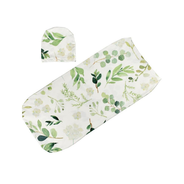 Leaf Swaddle Sack - Tots Little Closet