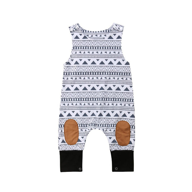 Aztec Sleeveless Boys Jumpsuit