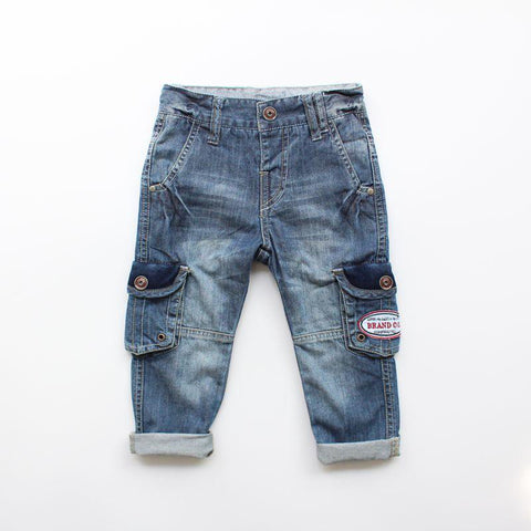 Boys Denim Jeans - Tots Little Closet