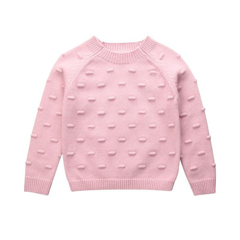 Pink Cotton Pullover freeshipping - Tots Little Closet
