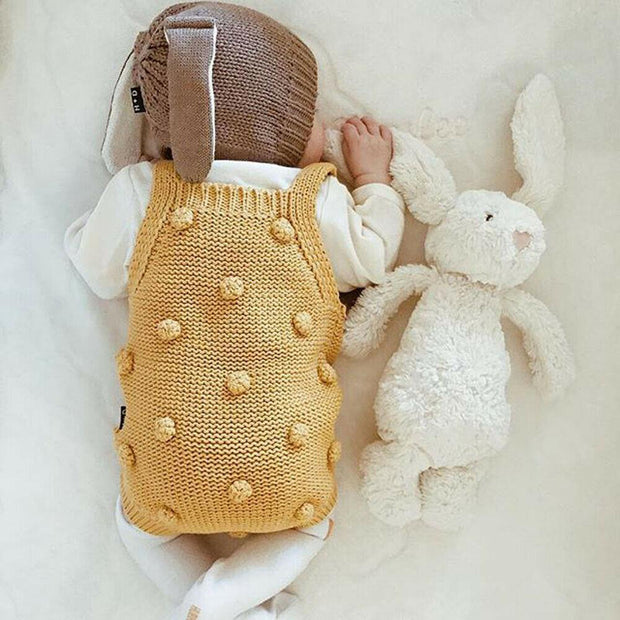 Baby Knit Romper  0-24m