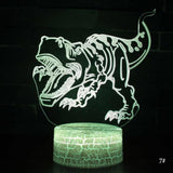3D LED Night Light Lamp Dinosaur 11 Styles - Tots Little Closet