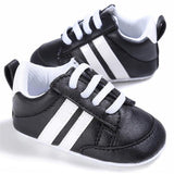 Striped Baby Kicks - Tots Little Closet