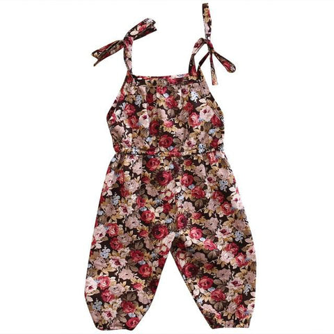 Floral Pantsuit freeshipping - Tots Little Closet