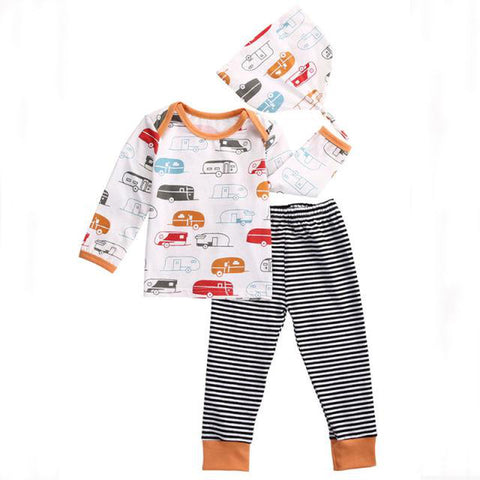 Caravan Travel Buddy Clothing Set - Tots Little Closet