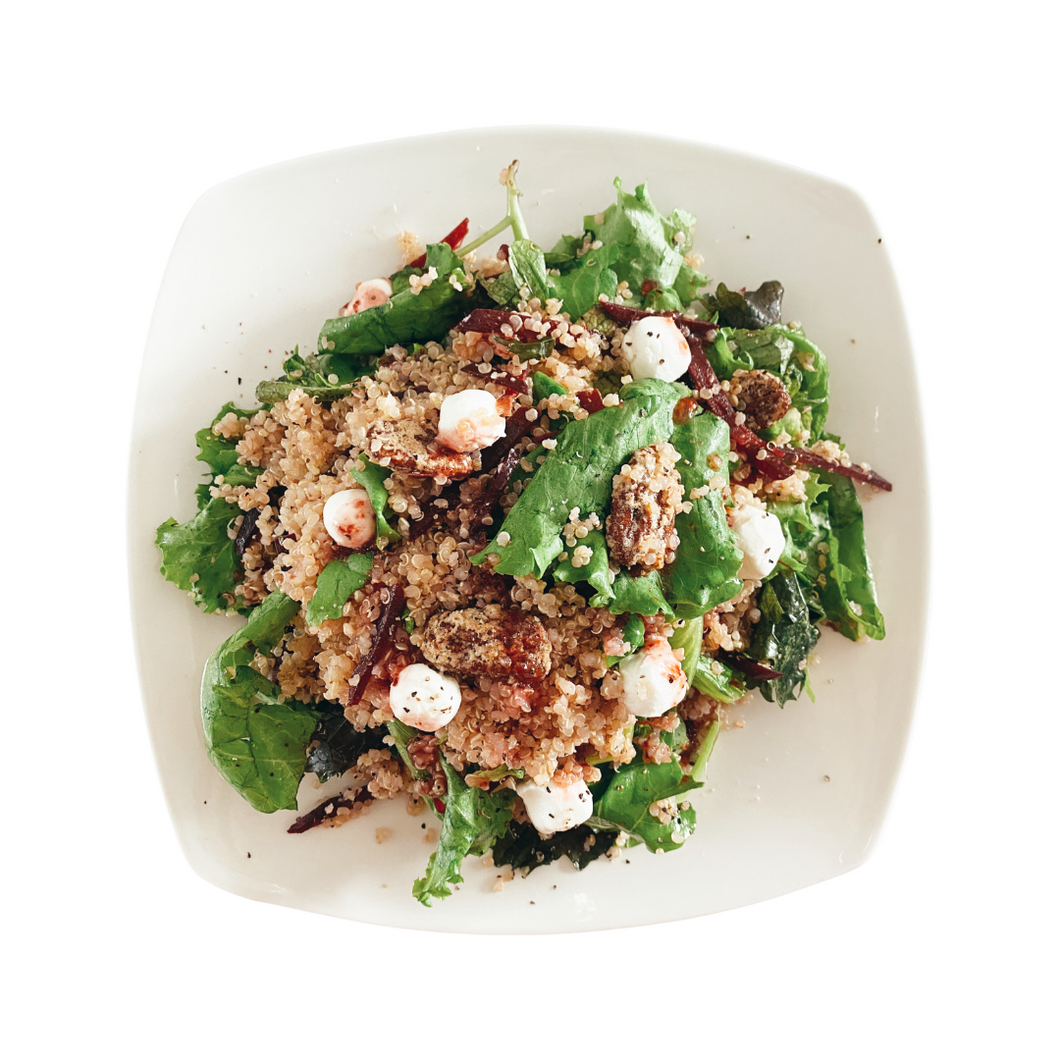 Purple Beet Quinoa Salad