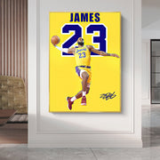 James 23 Canvas