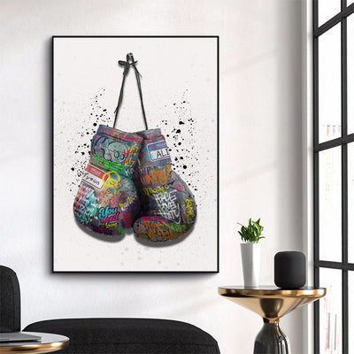Knock out graffiti gloves