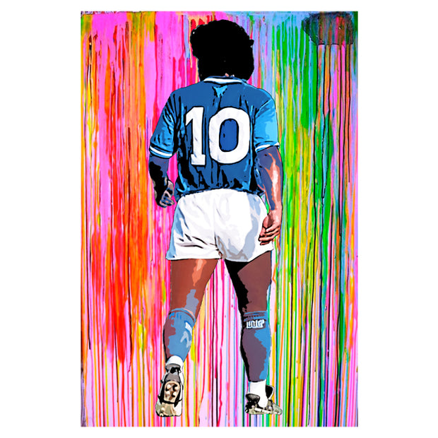 Diego Maradona Splash art