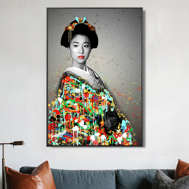 Graffiti geisha
