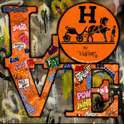 Hermes Love Graffiti