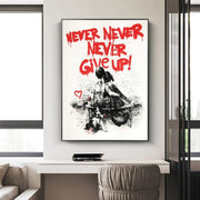 Banksy Never Give Up